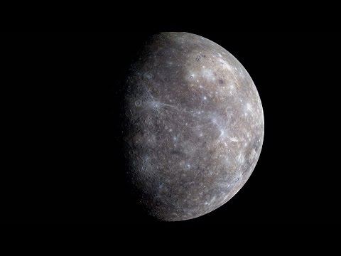 Planet Mercury - from Messenger Space Probe