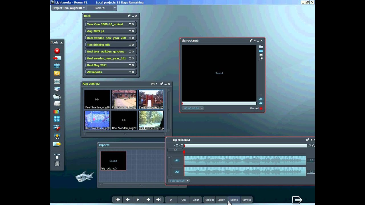 lightworks how to create video