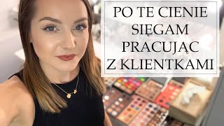 MOJE ULUBIONE PALETY CIENI W PRACY WIZAŻYSTY | Milena Makeup