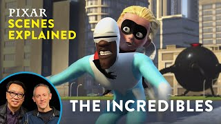 The Incredibles Final Omnidroid Fight | Pixar Scenes Explained