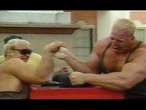 Nathan Jones Arm Wrestles Phil Martin and Magnus Samuelson
