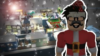 MY BLOXBURG TOWN IS DONE! Full tour of Breadtown Square!