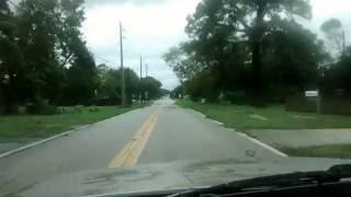 hurricane matthew in merritt island fl drive around