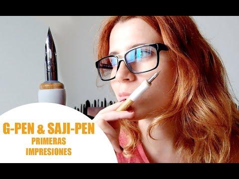 G-PEN & SAJI-PEN | Plumillas de entintado para manga [Primeras impresiones]