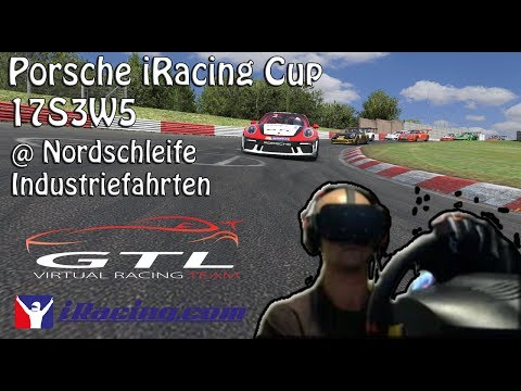iRacing   Oculus Rift Onboard   PORSCHE iRacing Cup @ Nordschleife   17S3W5
