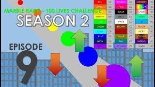 Marble Race - 100 Lives! Season 2 Part 9