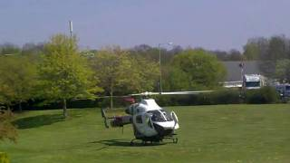 Surrey Air Ambulance Take Off From Work.