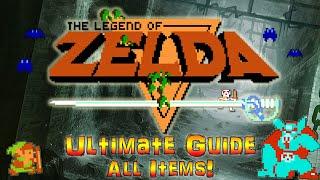 #LegendofZelda #Zelda #NES The Legend of Zelda - Ultimate Guide - ALL ITEMS, ALL SECRETS REVEALED