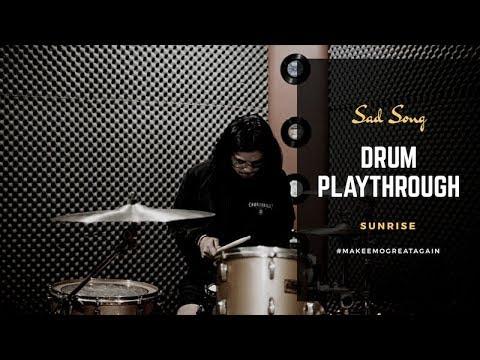 Sunrise - Sad Song (Drum Playthrough) Mp3