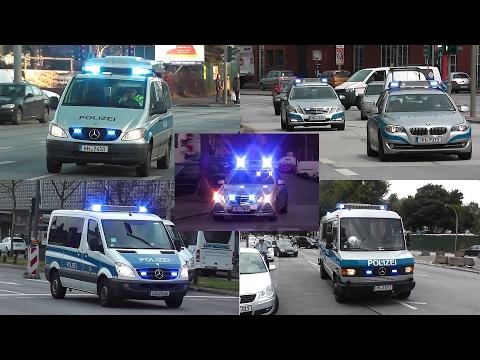 [POLIZEI ACTION HAMBURG] ZPKWS + WASSERWERFER + SONDERFAHRZEUGE U.V.M.