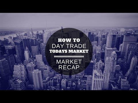 How To Day Trade Todays Market - Market Recap Session