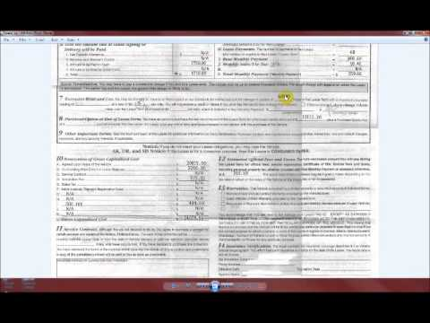 How to read a car lease agreement - Part 3 - YouTube