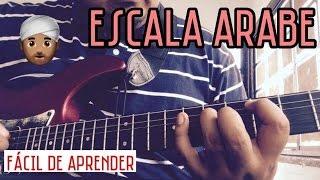 Escala Menor Armónica - escala arabe - fácil y rápido - Clases de Guitarra - Abraham y Anahi - vlogs