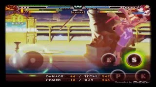 The King Of Fighters A-2012 Android Hwa Jai Combo