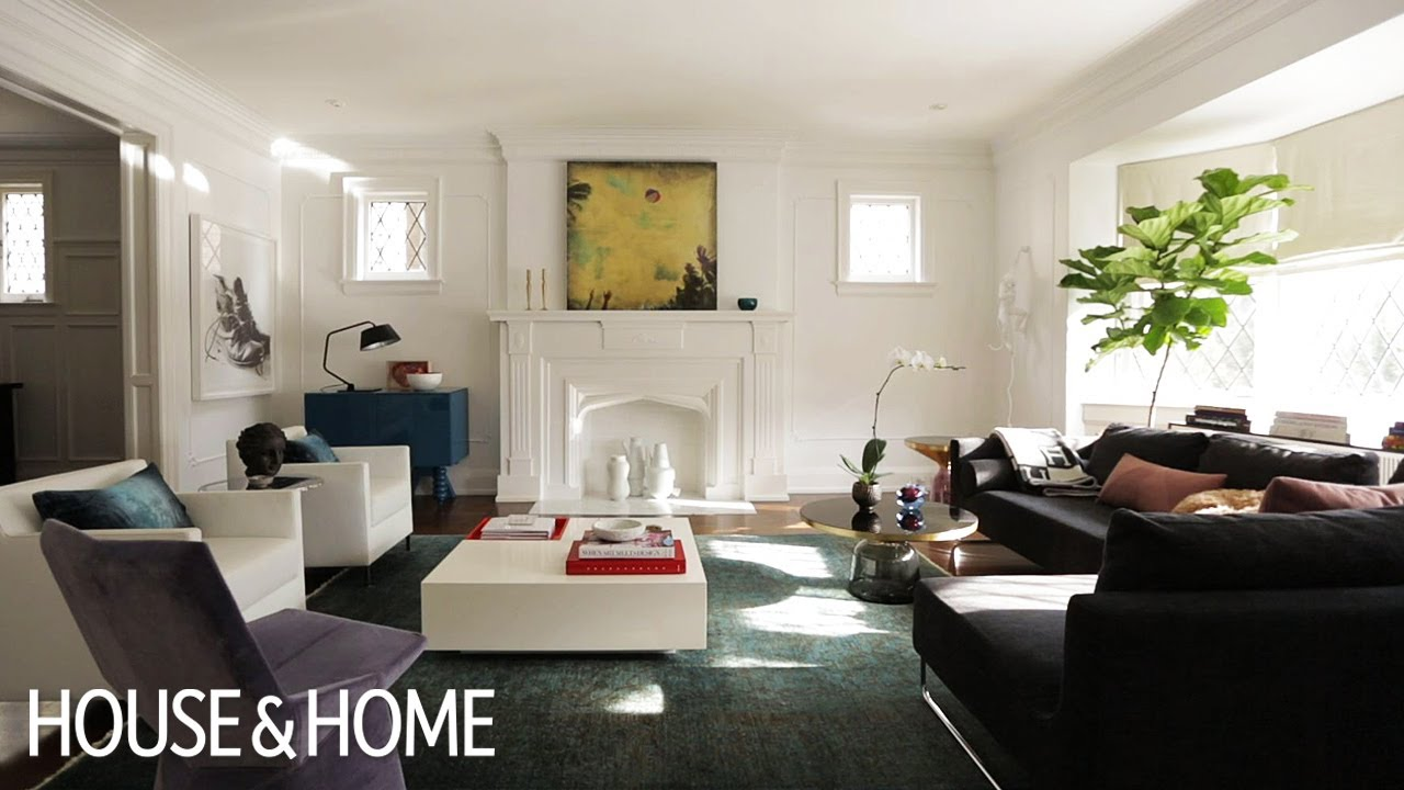 Editor\'s Advice: How To Style Your Living Room Like A Designer - YouTube