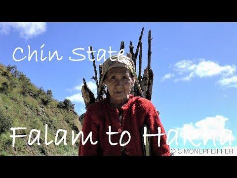 Falam to Hakha - Chin State ဖလမ်းမြို့ - ဟားခါးမြို့ - ချင်းပြည်နယ်