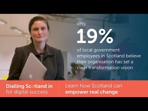Empowering change  |  Dialling Scotland in for digital success