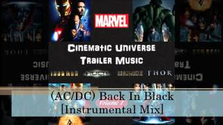 01 (AC/DC) Back In Black [Instrumental Mix]