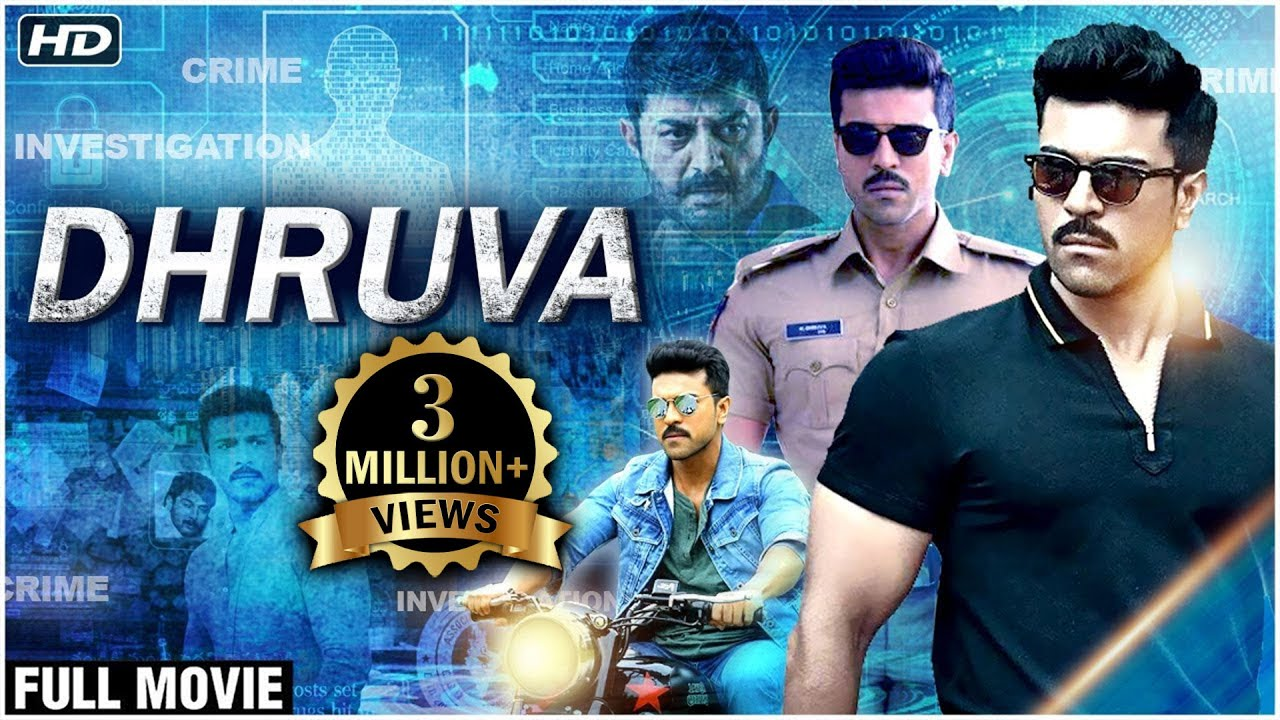 Dhruva Hindi Dubbed Full Movie | Ram Charan, Arvind Swamy | South Dubbed  Action Movies - YouTube