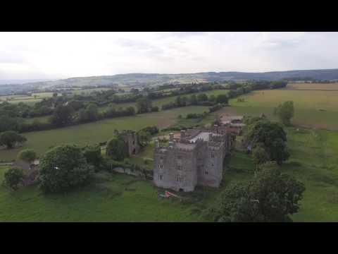 Pencoed Castle - DJI Phantom 3