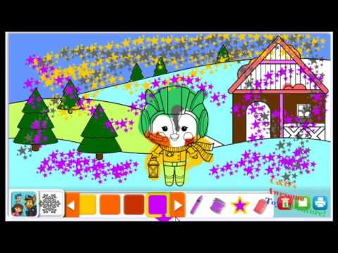New Top Wing Coloring Game Nick Jr! Top Wing Holiday Video ...