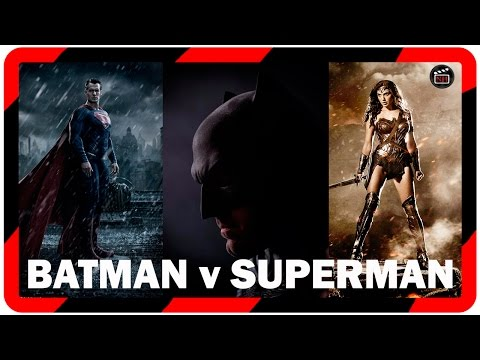 DC: pelicula Batman v Superman: Dawn of justice (2016) II Novedades batman v Superman Comic Con
