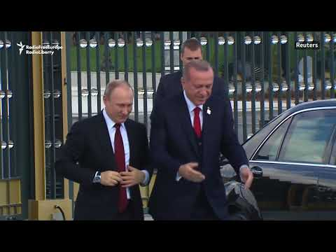 Erdogan Welcomes Putin