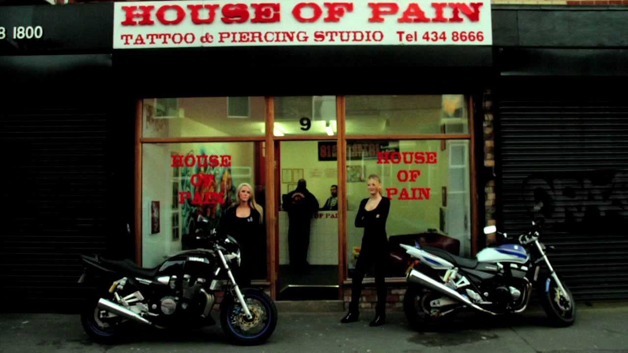 tattoo artisthouse of pain manchester youtube