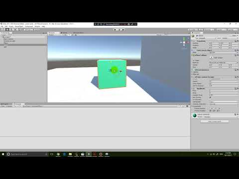 Unity 2017 Beginner Tutorial 5 - How to detect if object is grounded by raycast