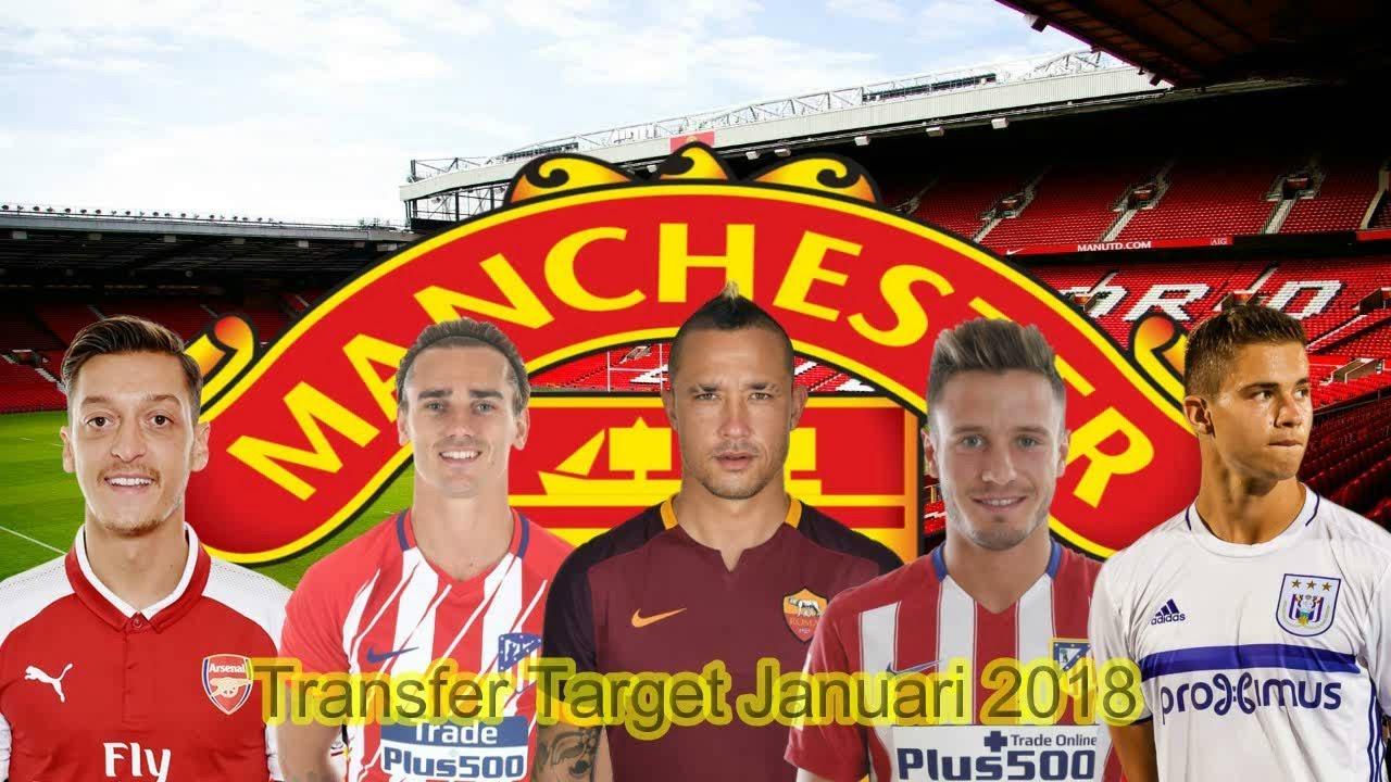 Manchester United Transfer Tar Januari 2018