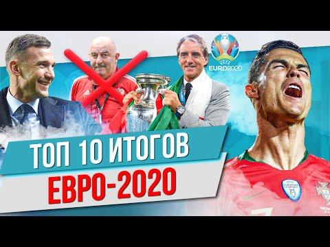 ТОП 10 Итогов Евро-2020