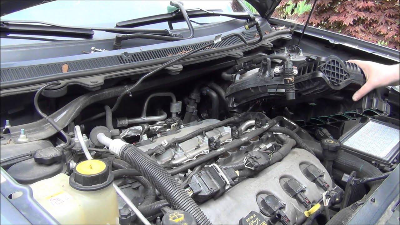 2009 Ford Flex AWD 20 Dollar Tune Up  YouTube