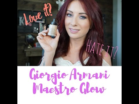 Worth the money? | NEW Giorgio Armani Maestro Glow Nourishing Fusion Foundation | shadesofkassie