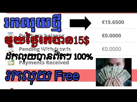 Download របៀបរកលុយតាម website ថ្មីដកលុយបានពិតៗ រកលុយបានលឿន how to make money to payeer រកលុយចូល payee