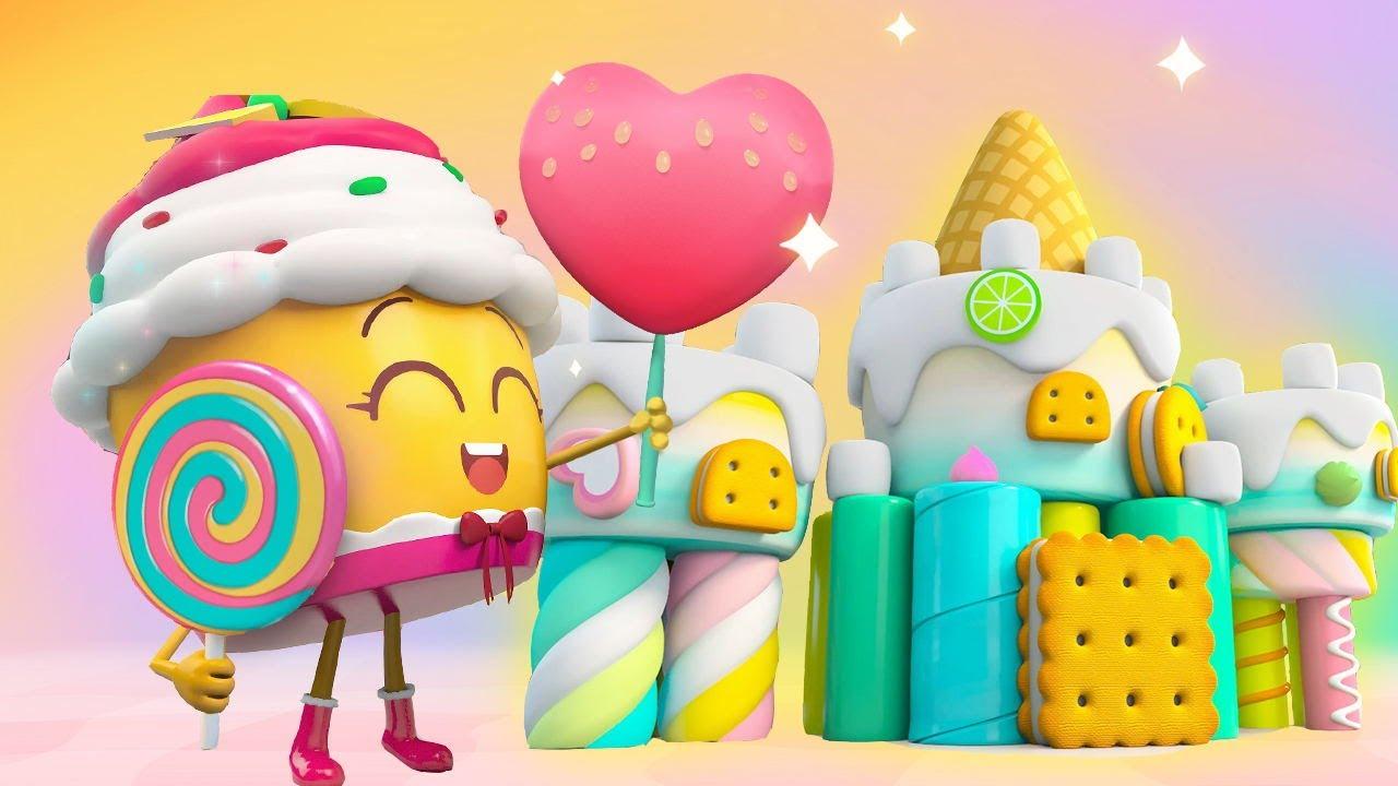 すてきなお城★ドーナツのチャレンジ第8話 | 赤ちゃんが喜ぶアニメ | 動画 | ベビーバス| BabyBus