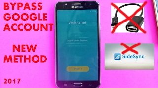 📱Samsung Galaxy J7 📲 How to bypass Google Account ( without OTG or PC)📱