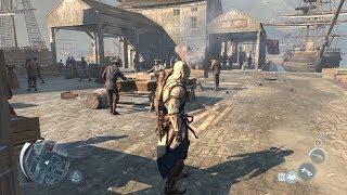 Assassin's Creed 3 gameplay free roam HD