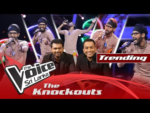 A R Jithendra   Mash Up - Manda Pama    Mukkala   The Knockouts   The Voice Sri Lanka