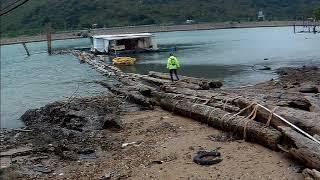 2018 10 17 陰澳--趁林鄭的明日大嶼願景計劃還未上馬前先去走走,以免青嶼幹線旁一個別具特色的海灣被淹沒了才後悔莫及就太遲了!