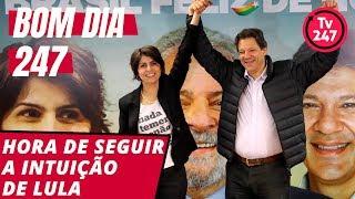 Baixar Bom dia 247 (8/8/18) – É hora de confiar na intuição de Lula