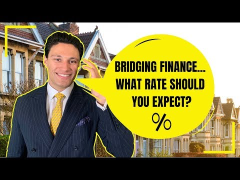 What Is The Interest Rate For Bridging Finance in 2019