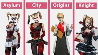 Batman Arkham – Asylum vs. City vs. Origins vs. Knight on PC Comparison [60fps][FullHD]