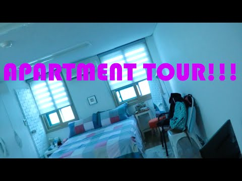 MY STAY IN KOREA: APARTMENT TOUR!!