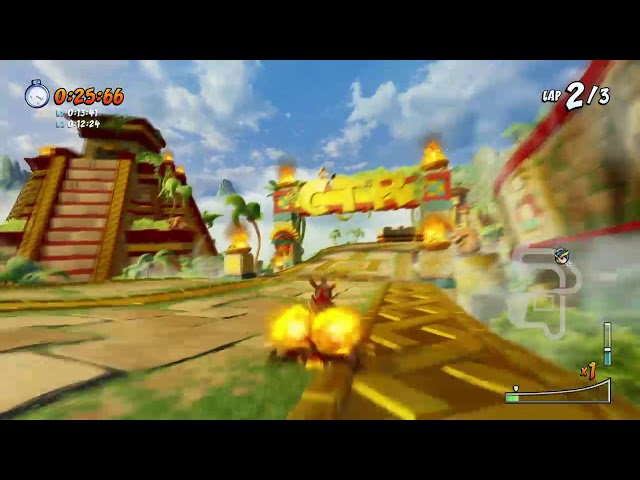CTR NF: Papu Pyramid 0:38.60 (Patched Method)
