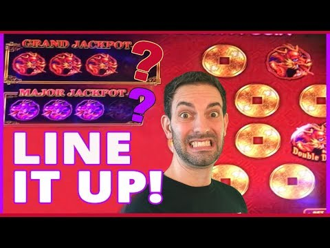 🛢🐃💰 LINE IT UP w/ Dancing Drums✦ Buffalo Gold BONUS ✦ Cosmopolitan in Las Vegas