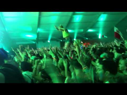 Steve Aoki Killing it at Electric Zoo 2012