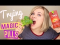 TRYING MAGIC TASTE PILLS! -  DO THEY REALLY WORK? // SoCassie
