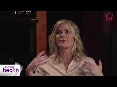 Hollywood Health Report - Alison Sweeney on Exercising and Injury