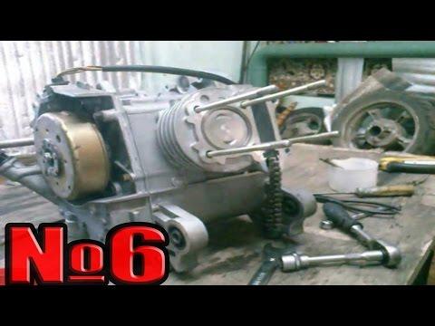 Как разобрать и собрать двигатель 139QMB