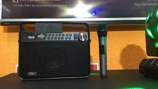 Loa karaoke mini xách tay hay nhất | Boxt Q7 - 2300k